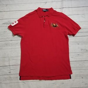 Ralph Lauren Big 3 Pony Logo Polo
